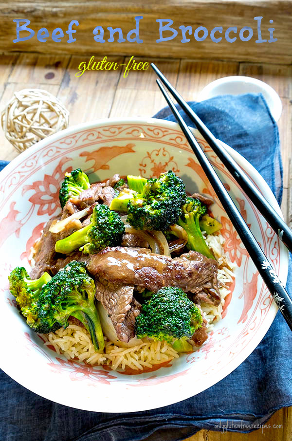 Gluten Free Beef and Broccoli Easy Recipe