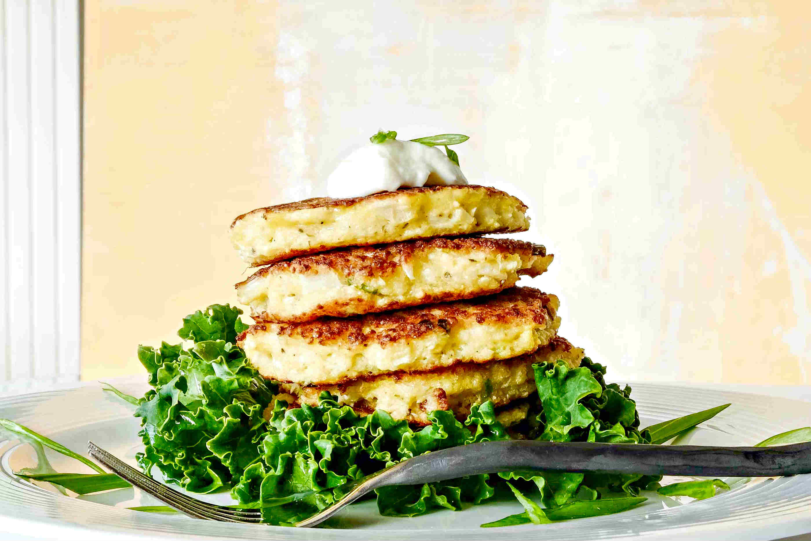 Gluten Free Cauliflower Fritters
