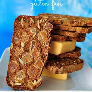 Gluten Free Apricot Pumpkin Seed Crackers