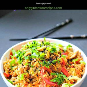 Low Carb Singapore Cauliflower Rice