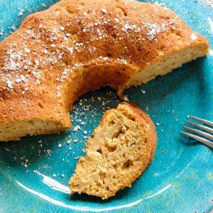 Gluten Free Butternut Squash-Apple Cake