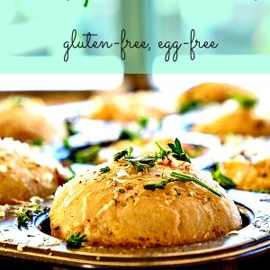 Gluten Free Cheesy Garlic Rolls