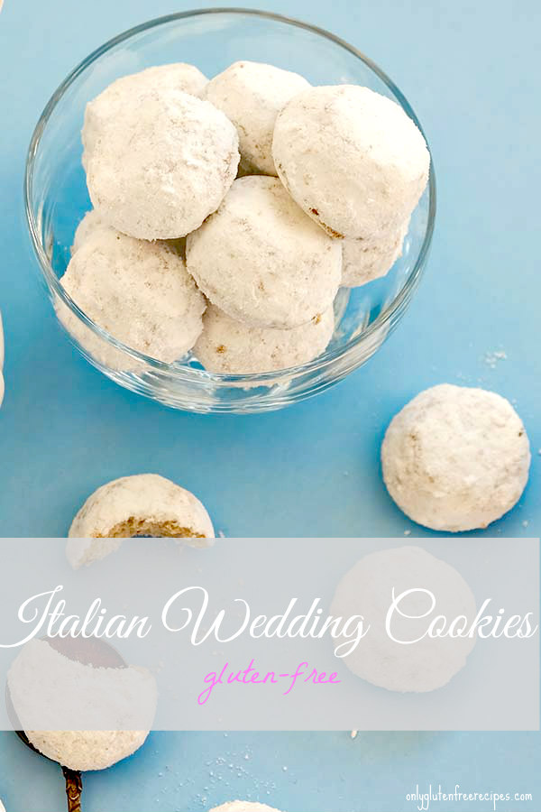 Gluten Free Italian Wedding Cookies