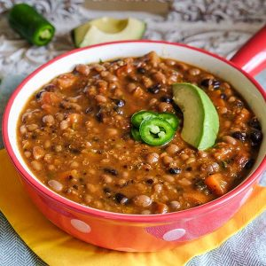 Western Vegetarian Chili Recipe