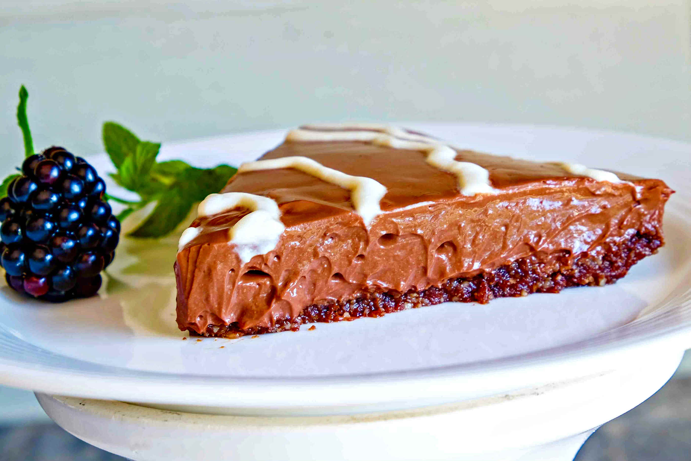 Vegan Gluten Free French Silk Cake