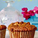 banana apple muffin, gluten free