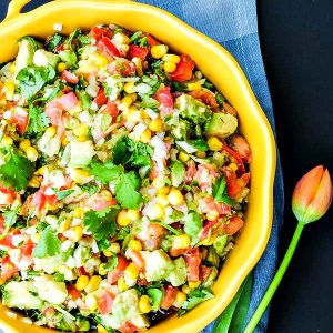 Avocado and Corn Salsa – Easy Recipe