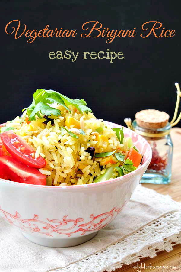 Vegetarian Biryani Rice – Easy Recipe