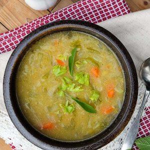Detox Turmeric Celery Soup