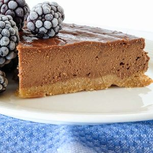 Grain Free Chestnut Chocolate Cake