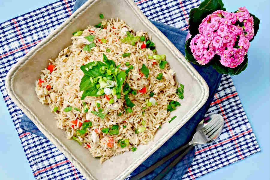 Thai chicken coconut rice