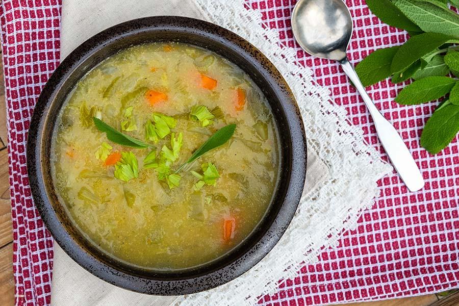 detox, celery, soup