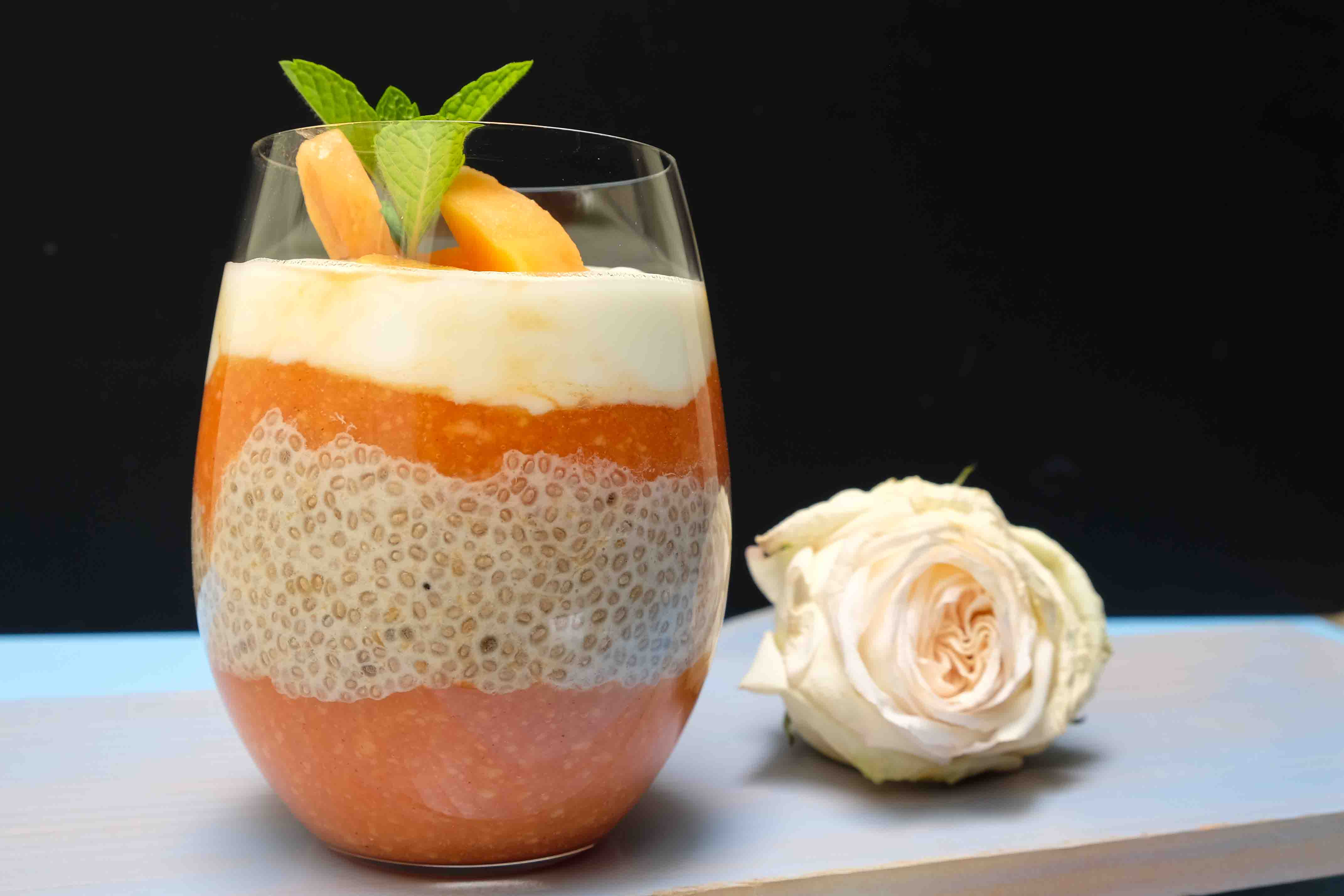 Immune Boosting Papaya Chia Breakfast Pudding