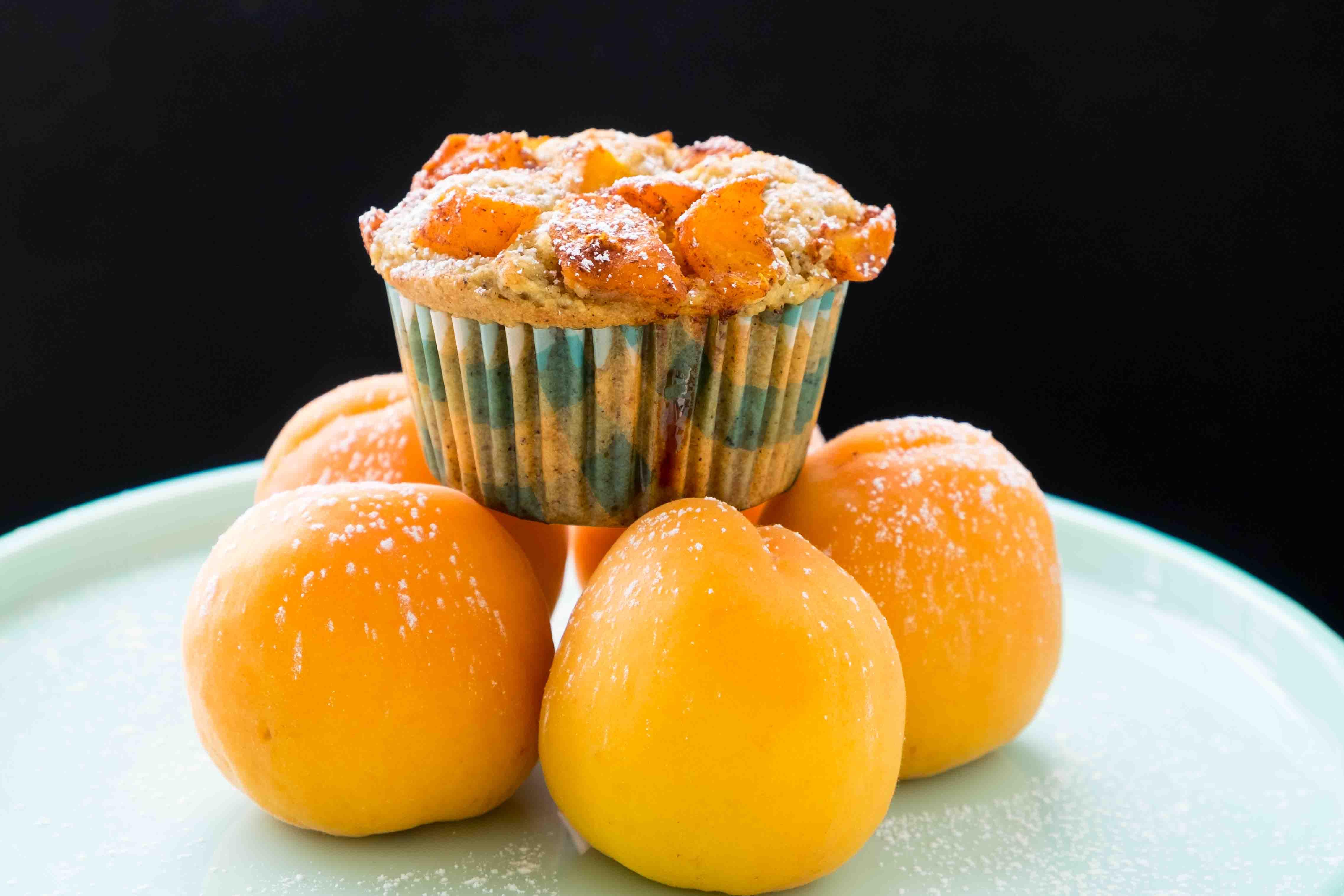 Gluten Free Buckwheat Apricot Muffins
