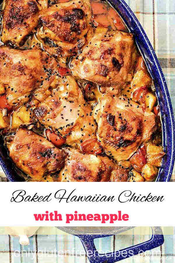 Baked Hawaiian Chicken with Pineapple