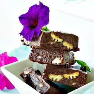 Gluten Free 4-Ingredient Chocolate Fudge