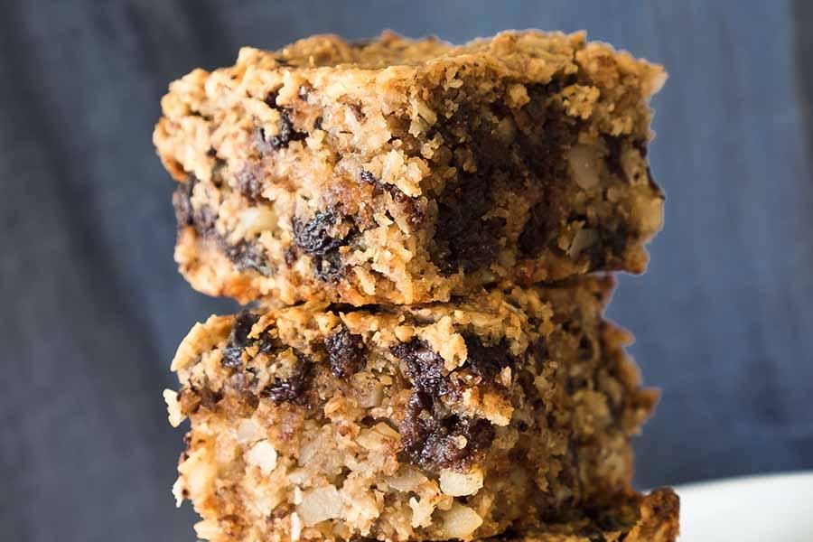 Gluten Free Oatmeal Squares