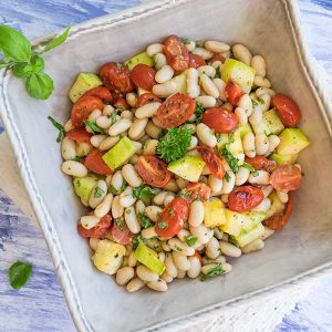 Tuscan White Bean Salad