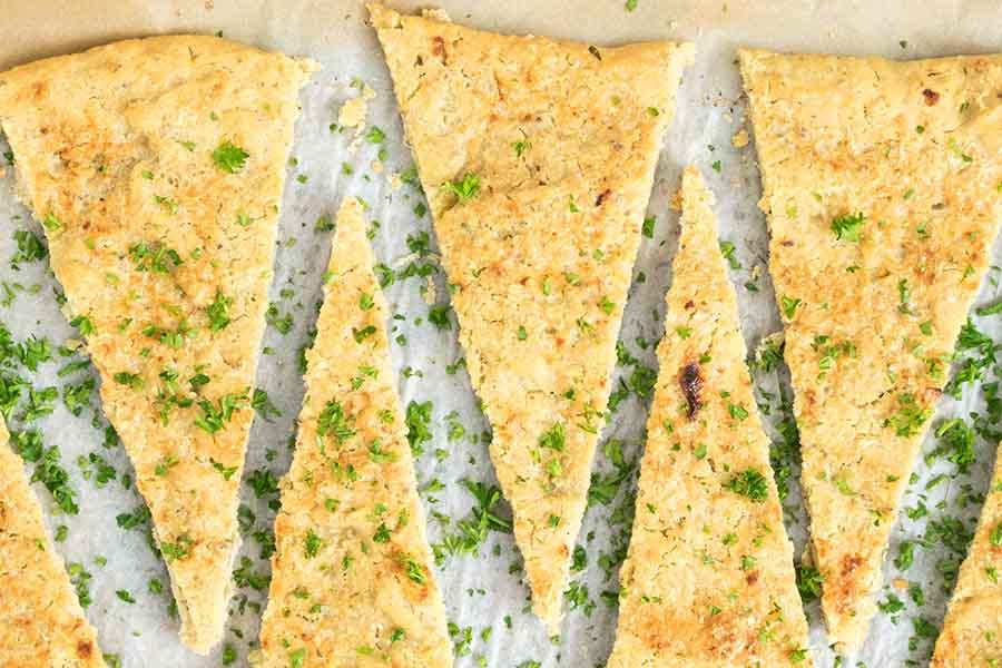 Easy Gluten Free Garlic Pizza Bread Recipe