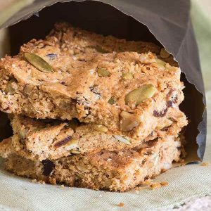 Gluten-Free Paleo Breakfast Bar