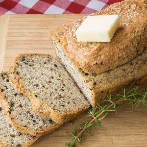 Gluten-Free Keto Multi Seed Bread