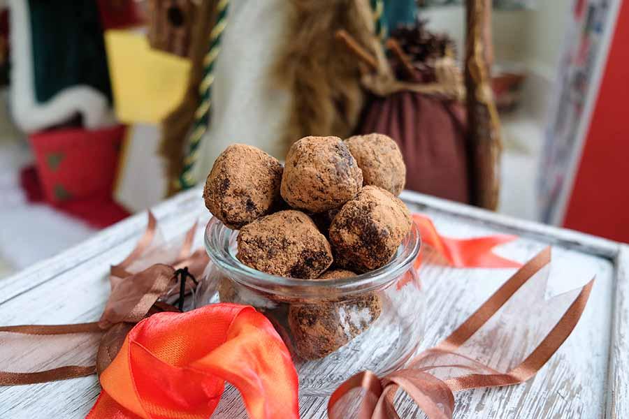 Gluten-Free Coffee Rum Balls