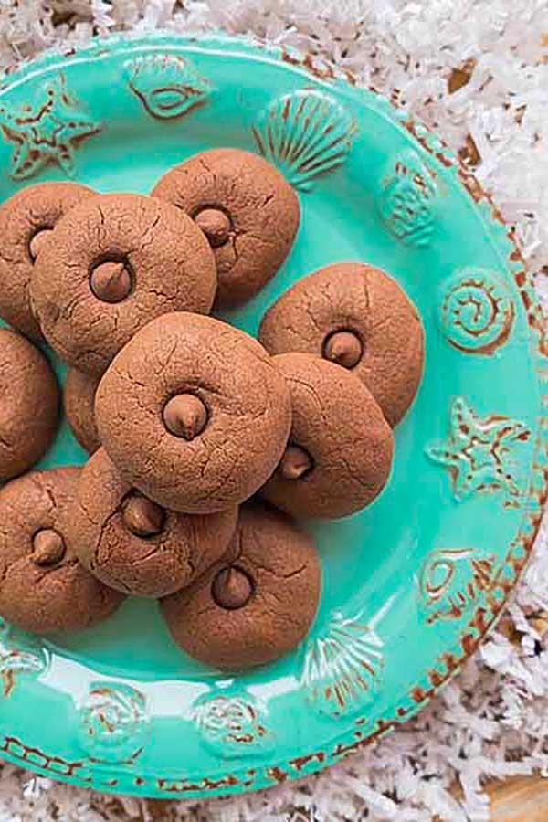 nutella cookies, gluten-free