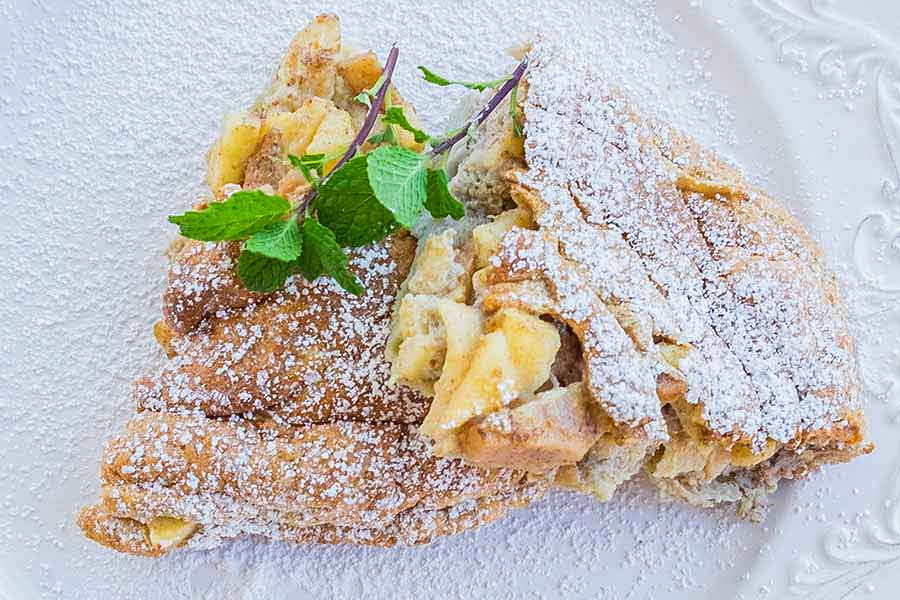 gluten free apple cinnamon frittata