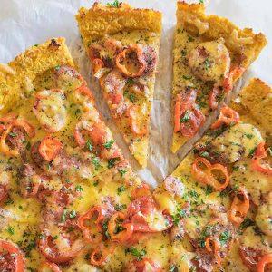 Gluten-Free Butternut Squash Pizza