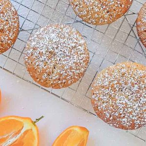 Gluten-Free Orange Yogurt Muffins