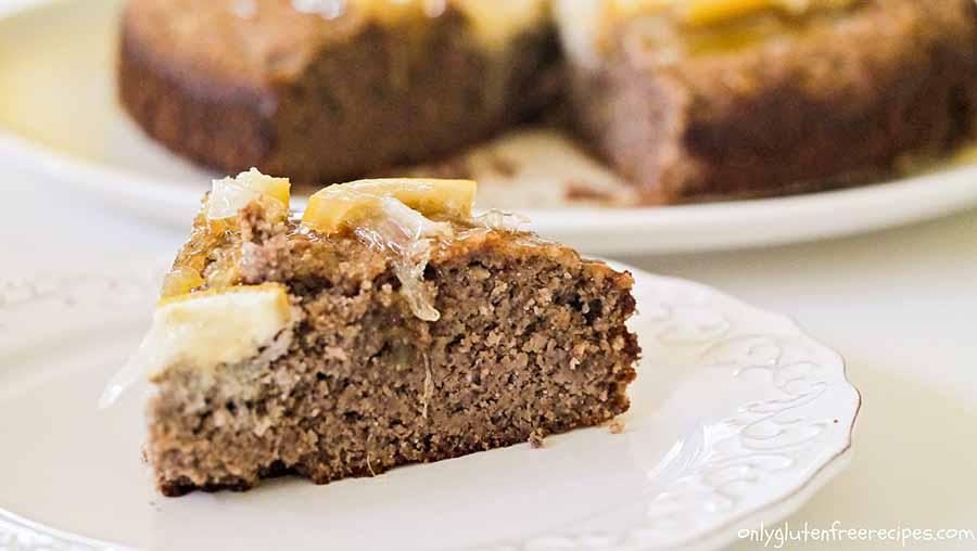 Gluten-Free Lemon Pecan Cake