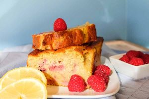 raspberry, cake, breakfast, one bowl