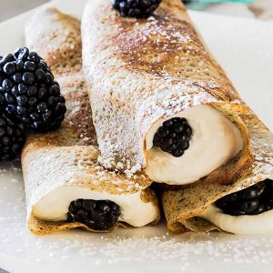 Gluten Free Easy Buckwheat Crepe Recipe
