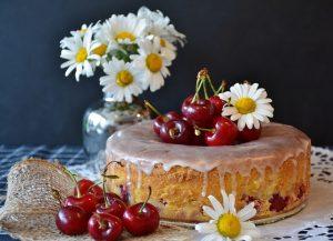 cake, breakfast,