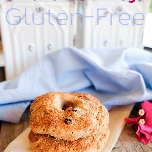 Gluten-Free Cinnamon Raisin Bagel
