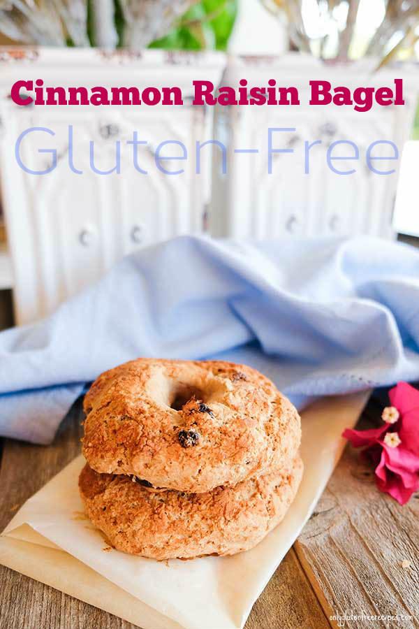 Gluten-Free Cinnamon Raisin Bagel