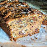 walnut loaf, dates, gluten free