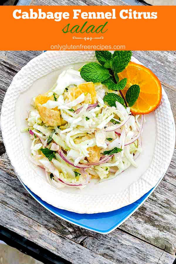 Cabbage and Fennel Citrus Salad