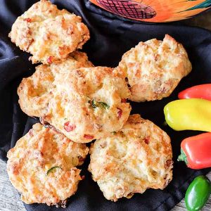 Gluten-Free Mexican Cheese Biscuits