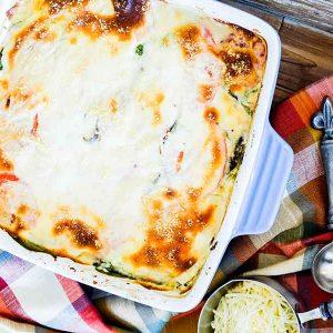 Grain-Free Vegetarian Lasagna