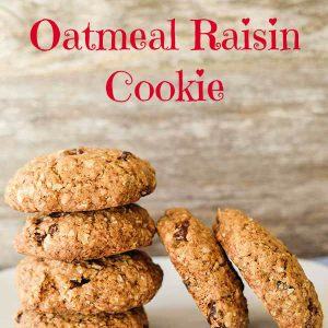 Award Winning Gluten-Free Oatmeal Raisin Cookies