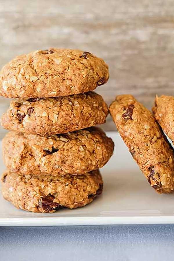 oatmeal raisin cookie, gluten-free