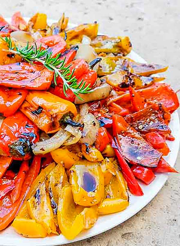 chargrilled peppers, italian antipasto
