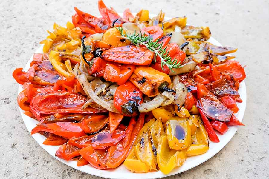 Italian Chargrilled Peppers