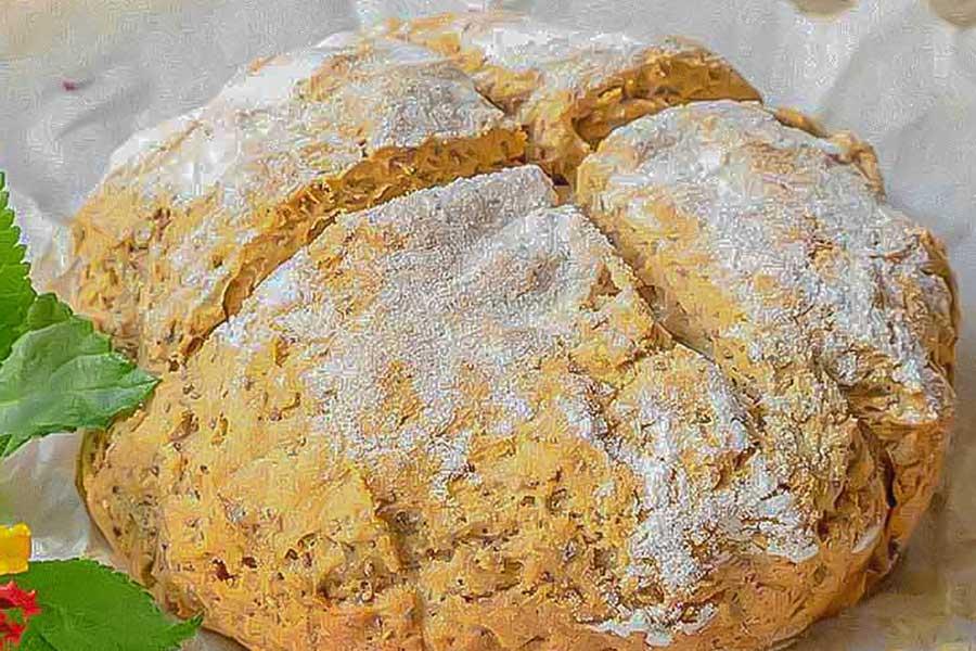 soda bread, gluten-free
