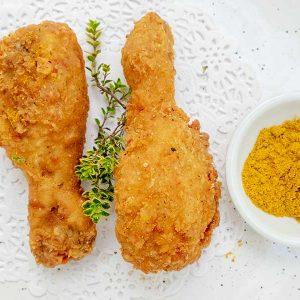 Gluten-Free Curry Fried Chicken