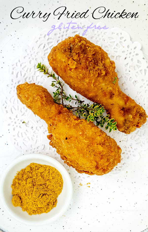 Gluten-Free Curry Fried Chicken