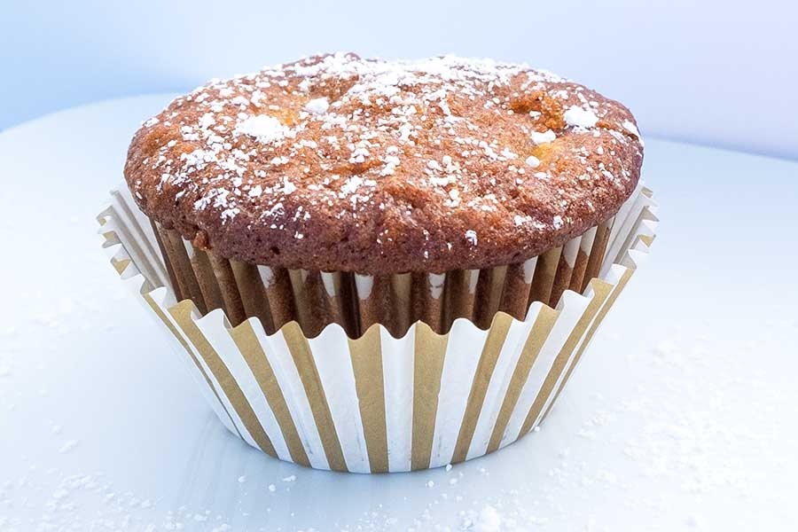 pineapple and coconut muffin, gluten-free