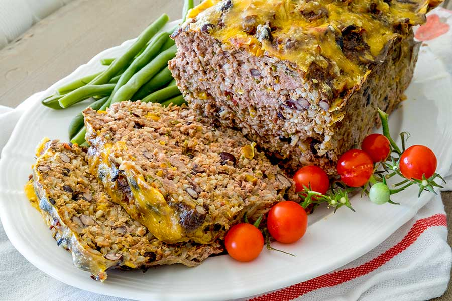 Gluten Free Mexican Meatloaf