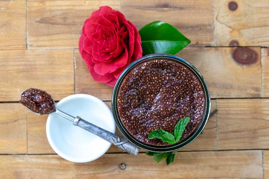 Cherry Chia Jam – Easy Recipe